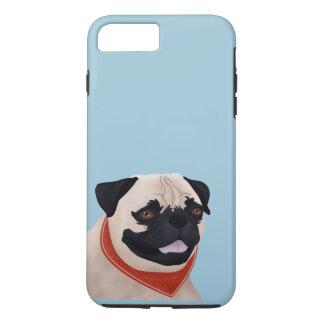 Pug Cartoon iPhone 7 Plus Case