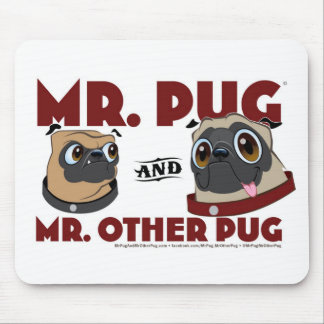 Pug Crap Mouse Mat