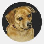 Pug Dachsy Sticker
