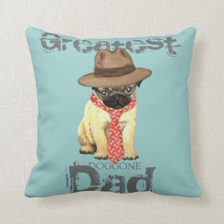 Pug Dad Cushion
