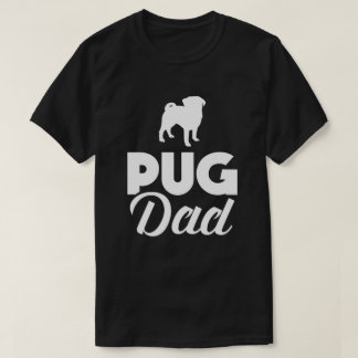 Pug Dad Funny Mops T-Shirt