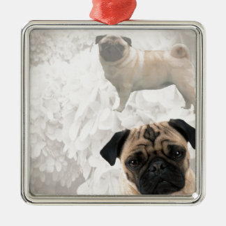 Pug Design Christmas Ornament