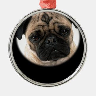 Pug Design Christmas Ornament