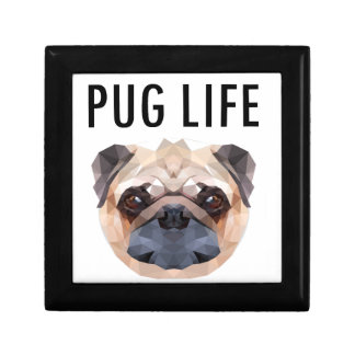 Pug Design Dog Unique Gift Box