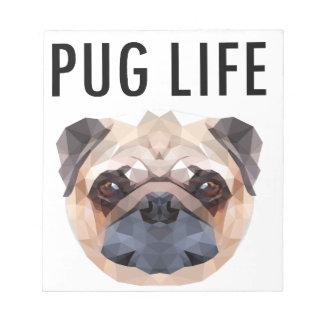 Pug Design Dog Unique Notepad