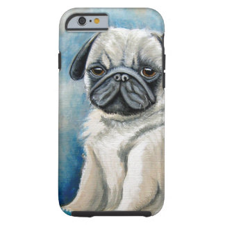 Pug Design Tough iPhone 6 Case