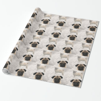 Pug Design Wrapping Paper