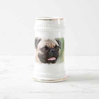 Pug Dog Beer Stein