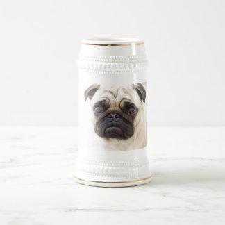 Pug Dog Beer Stein  Beer Stein