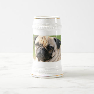 Pug Dog Breed  Beer Stein