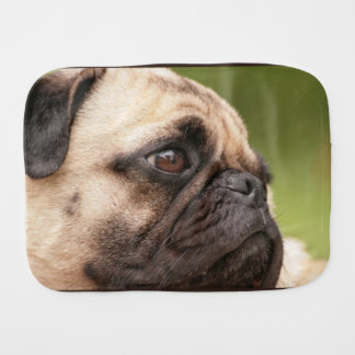 Pug Dog Burp Cloth
