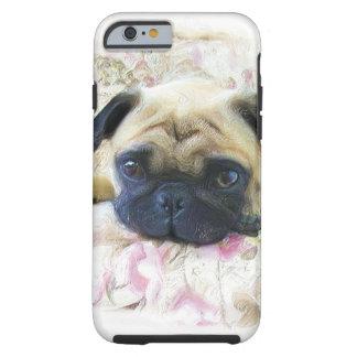 Pug dog tough iPhone 6 case