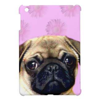 Pug dog case for the iPad mini