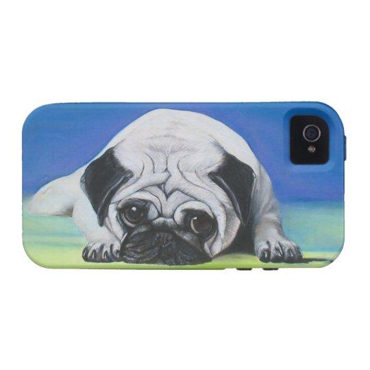 Pug Dog Case-Mate Case Tough Iphone 4