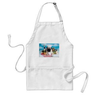 Pug Dog Chef Standard Apron