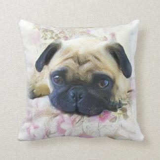 Pug Dog Cushion