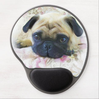 Pug Dog Gel Mouse Mat
