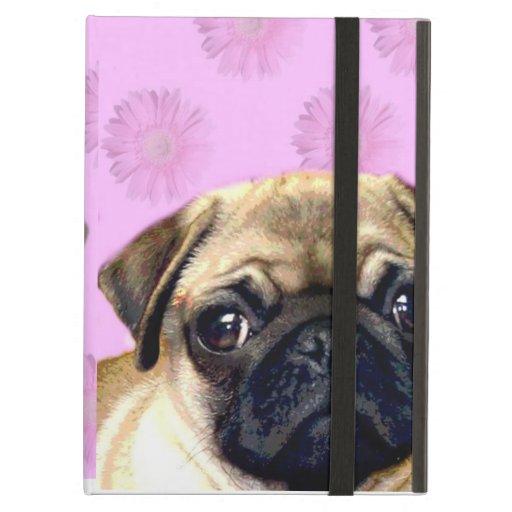 Pug dog iPad cover