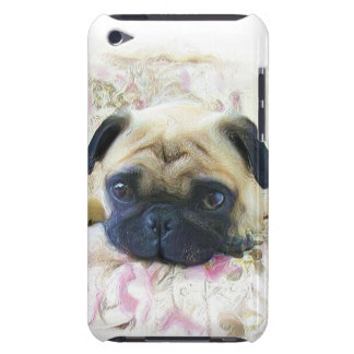 Pug dog iPod touch cases