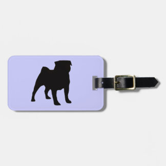 PUG - DOG LUGGAGE TAG