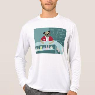 Pug Dog Martini Bar Tee Shirts