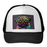 Pug Dog Mesh Hats