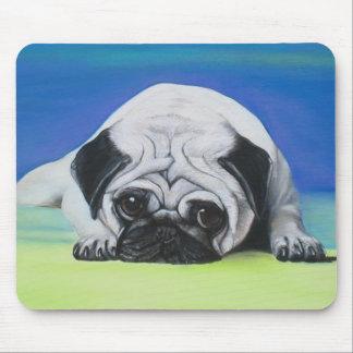 Pug Dog Mouse Mat