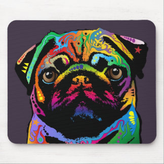 Pug Dog Mouse Mat