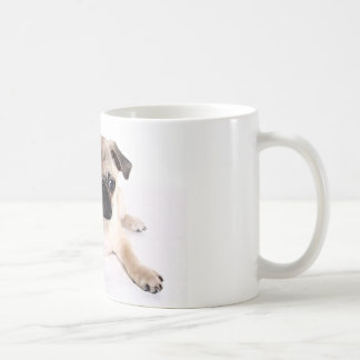 Pug Dog Basic White Mug