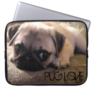 Pug Dog Neoprene Laptop Sleeve 15 inch