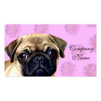 Pug dog pack of standard business cards