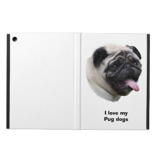 Pug dog pet photo portrait case for iPad air