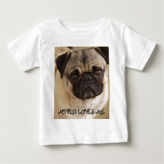 PUG DOG PUP BABY T-Shirt