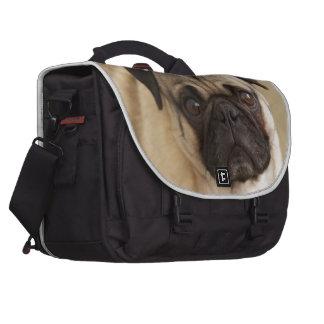 PUG DOG PUP COMPUTER BAG