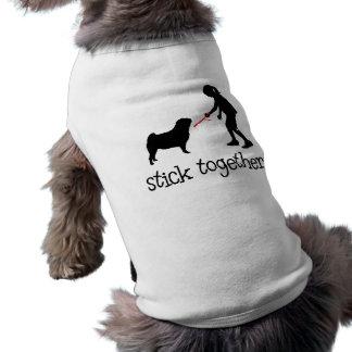 Pug Sleeveless Dog Shirt