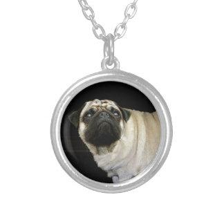Pug Dog & Spilled Mug Pet-lovers Neck Pendant