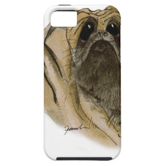 pug dog, tony fernandes case for the iPhone 5