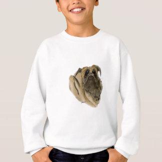 pug dog, tony fernandes sweatshirt