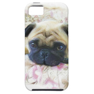 Pug dog tough iPhone 5 case