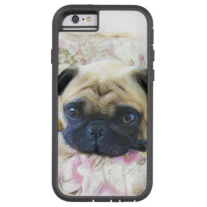 Pug Dog Tough Xtreme iPhone 6 Case
