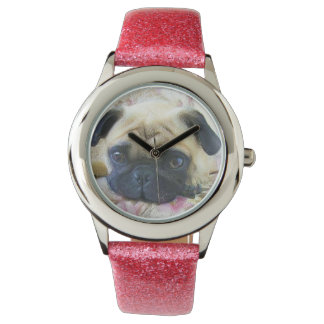 Pug Dog Wristwatches