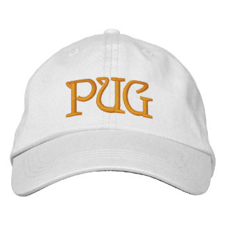 PUG EMBROIDERED HAT