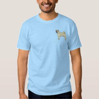 Pug Embroidered T-Shirt