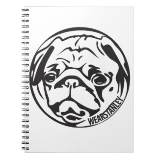 Pug Face Notebook