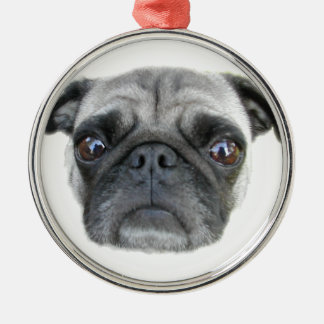 Pug Face Ornament