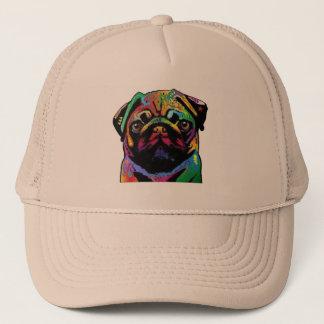 Pug Face Trucker Hat