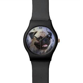 Pug face watch