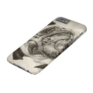 Pug for phone barely there iPhone 6 case