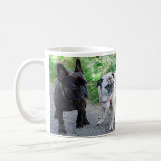 PUG & FRENCH BULLY - photo Jean Louis Glineur Coffee Mug