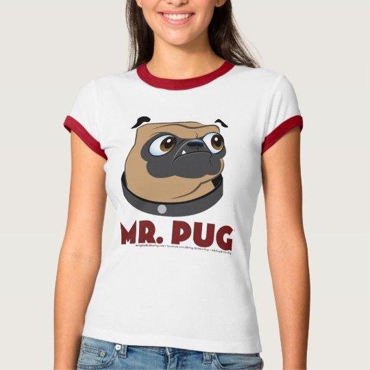 Pug Front & back T-Shirt